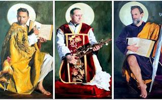 El pintor malagueño José Antonio Jiménez, 'santo' en Guadix