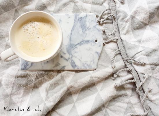 Frühstücksbrettchen im Marmorlook