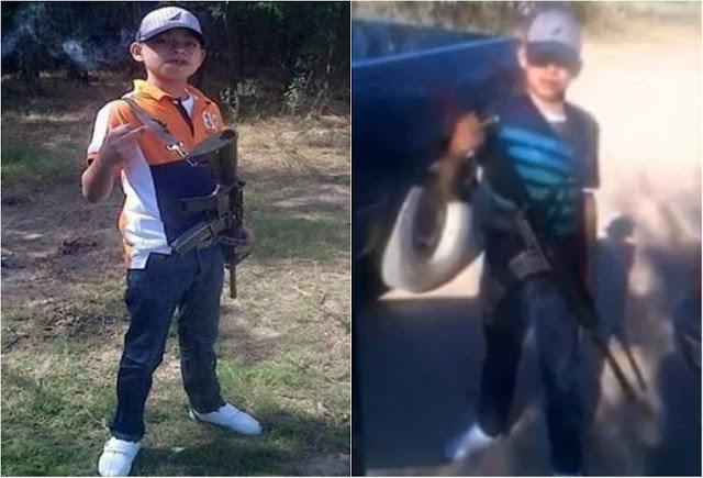 Juanito pistolas el menor de 13 años que murió como Sicario de la Tropa del Infierno del CDN durante un enfrentamiento con el Ejército