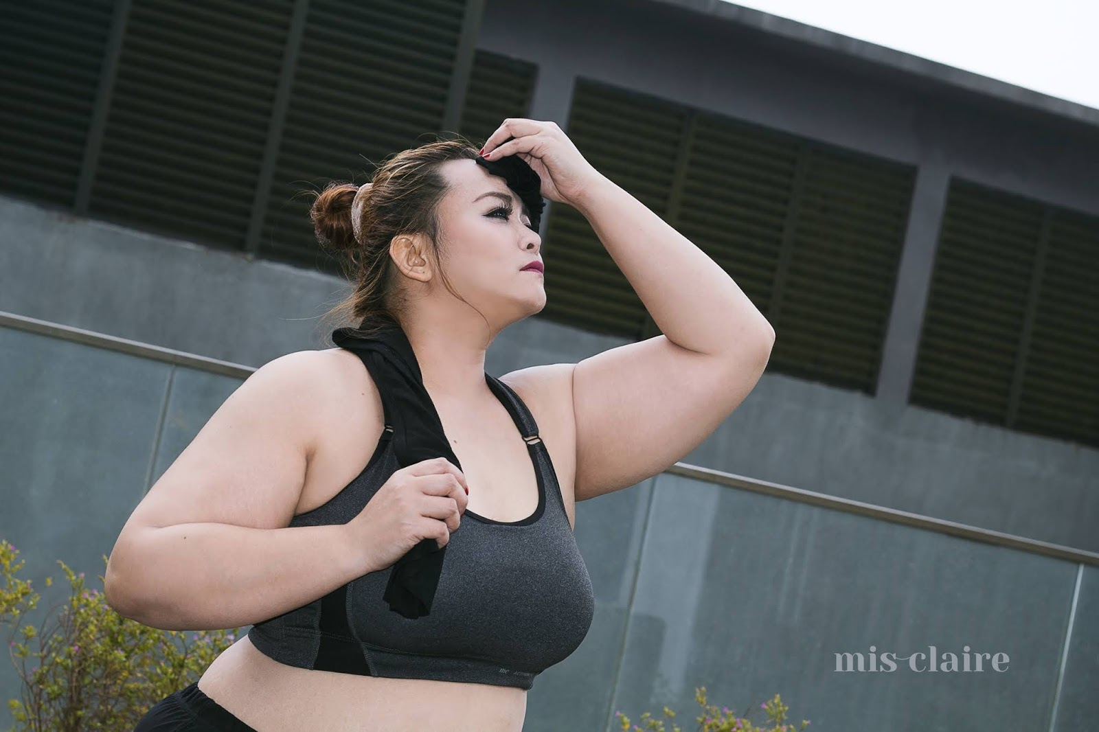 92a8aecb58d5d New And Improved Plus Size Sports Bra from Mis Claire
