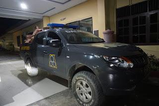 Polres Polman Siapkan Sedikitnya 115 Personil Guna Menjaga Posko Pengamanan Dan Pengawalan Bencana Alam Di Wilayah Sulbar.
