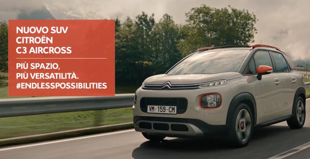 Canzone Citroen Pubblicità C3 Aircross SUV, Spot Ottobre 2017