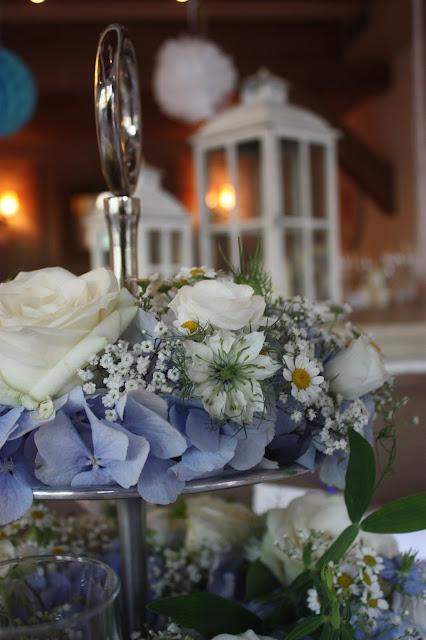Sommerliche Vintage-Hochzeit in Himmelblau und Weiß im Riessersee Hotel Garmisch-Partenkirchen - blue white vintage wedding in Bavaria - #Riessersee #Garmisch #Hochzeitshotel #Bayern #wedding venue #Bavaria #Vintage #Himmelblau