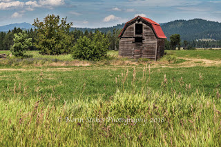 Old Barn I spotted while on a photo road trip through Elk WA.