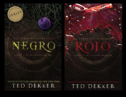 Serie del Círculo: Negro y Rojo