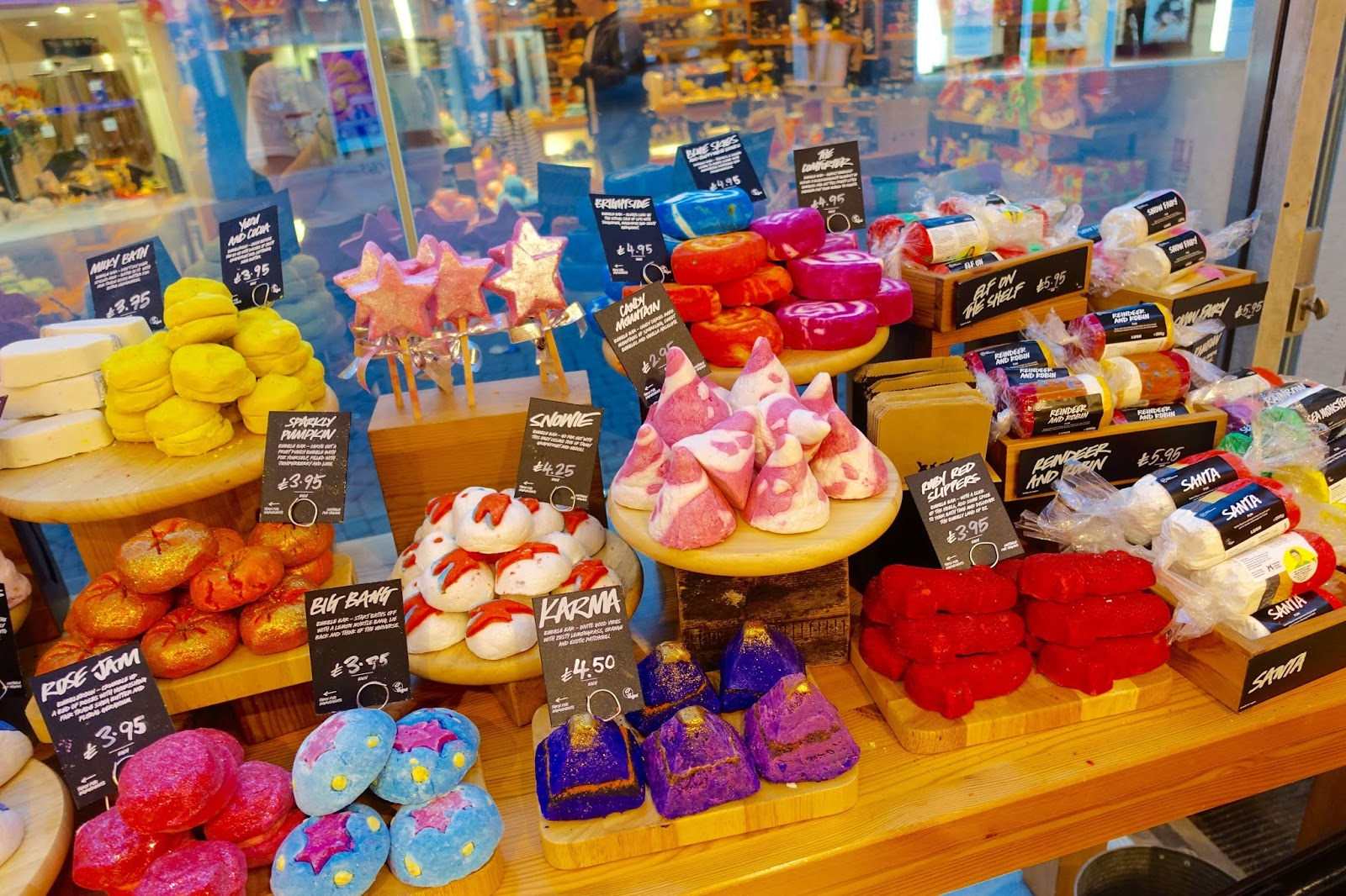 new christmas products at lush