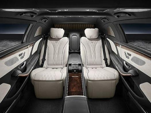 Interior Mercedes Maybacah S650 Pullman