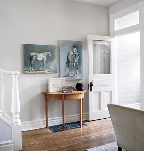 The Peak Of Très Chic: Elusive Paint Color + Elegant