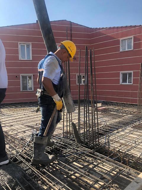 beton dökümü, betonun yerleştirilmesi