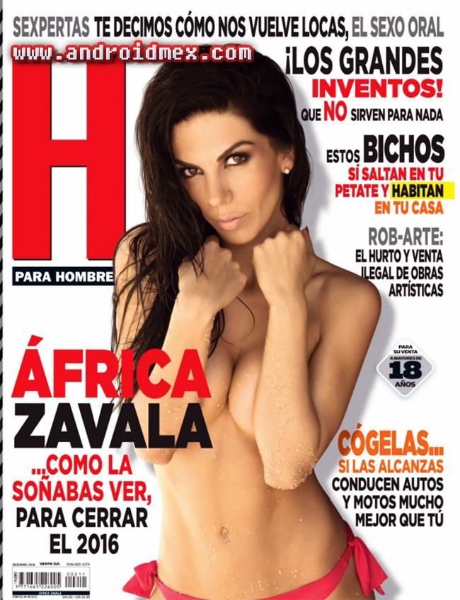H para Hombres México - Africa Zavala