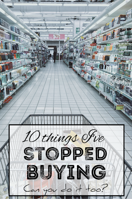 I've stopped buying these 10 items. What could you make at home instead of buying?