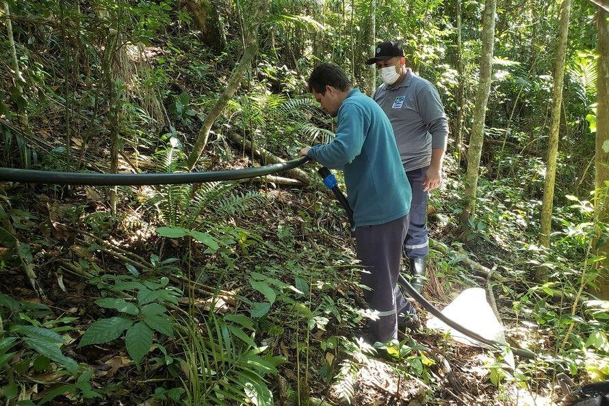Portos do Paraná atua no abastecimento de água nas comunidades isoladas