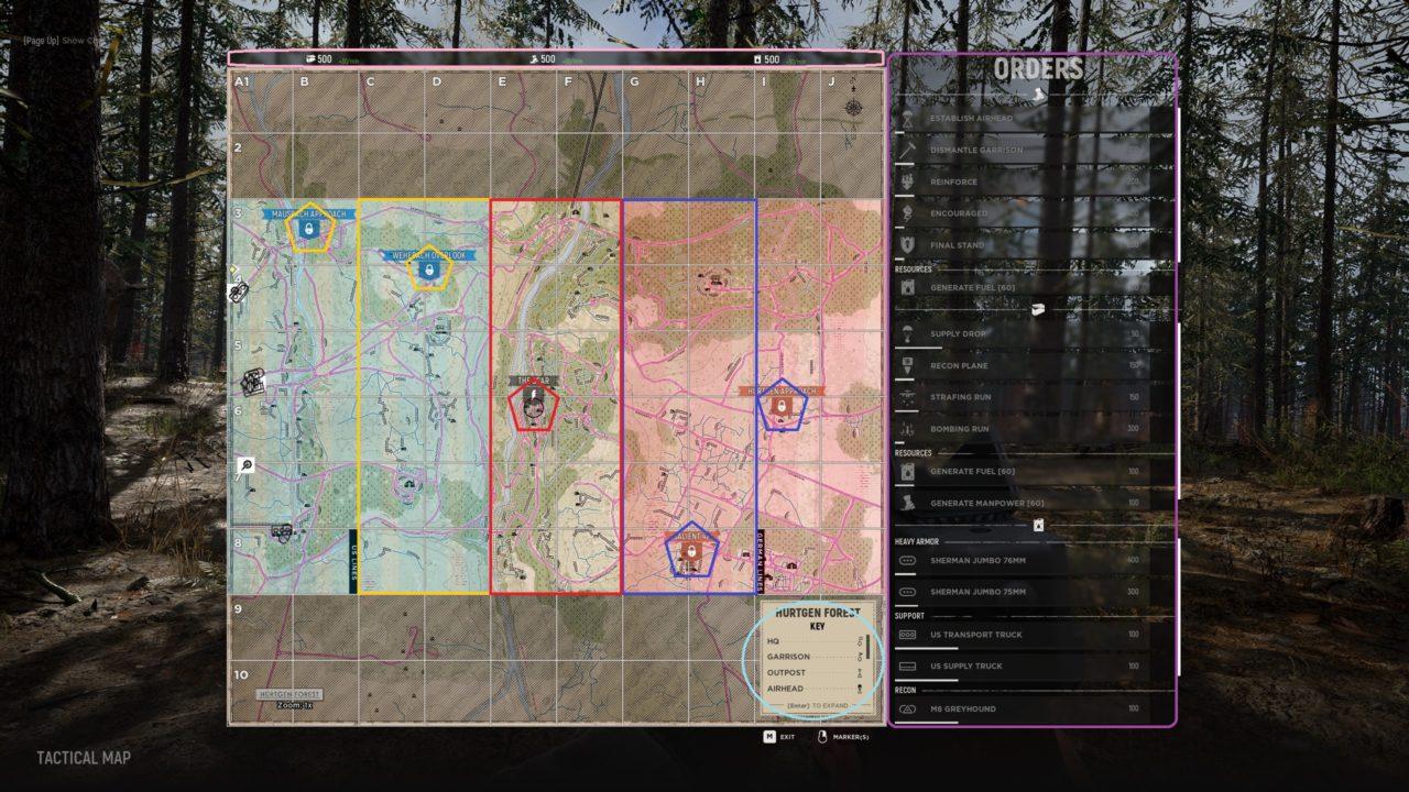 Tactical Map Warfare mod