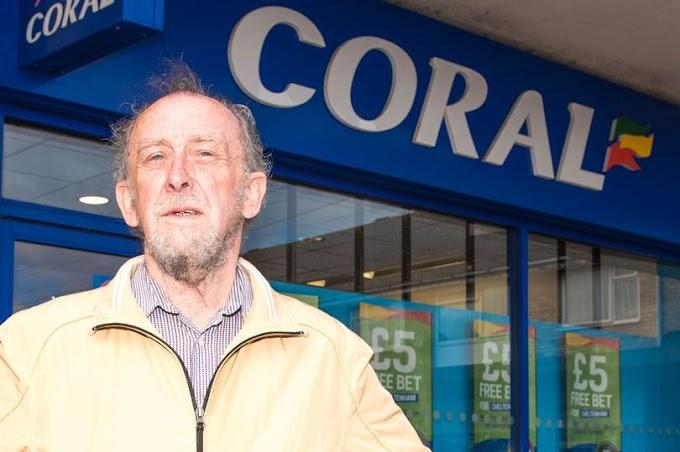 Seorang Kakek Dilarang Bermain Oleh Coral Setelah Meraih Kemenangan Hingga 2.000 Poundsterling