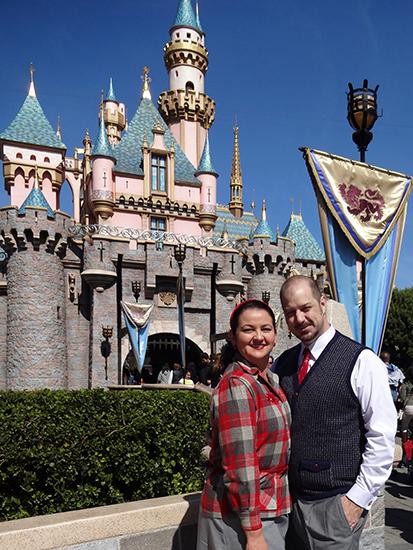Disneyland Pendleton Dapper Day 1950s