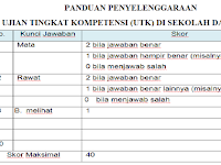 Panduan Penyelenggaraan Ujian Tingkat Kompetensi di SD Kurikulum 2013