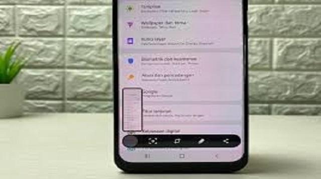 Cara Screenshot Panjang Samsung