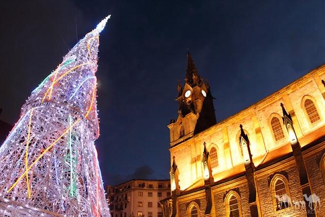 Consejos para fotografiar luces de Navidad