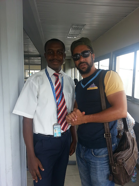 Meeting Ghanaian actor Majid Michel