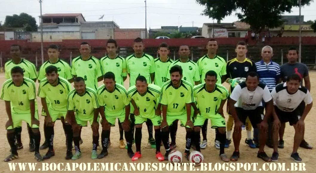 073f58a8be Com 5 gols de Nilsinho AMV goleia o Palmeiras da Urbis e se classifica para  4ª de final da Série-B do Campeonato de Futebol de Teixeira de Freitas