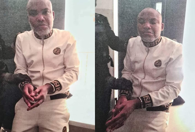 Nnamdi Kanu Has Been Reportedly Arrested, Extradited To Nigeria