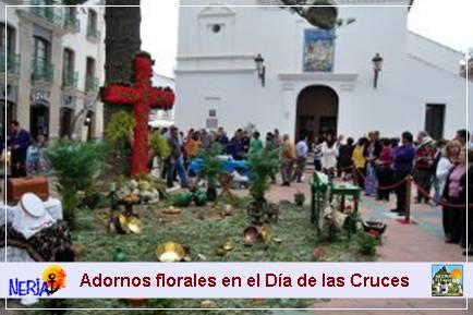 Día de la Cruces en Nerja, una tradición de siglos que se sigue festejando cada día 3 de mayo