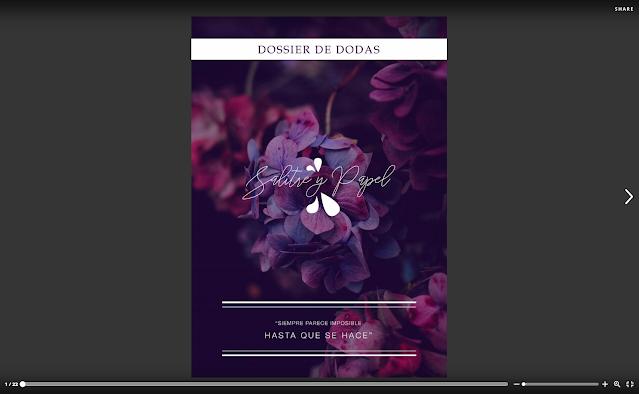 Dossier servicio bodas Salitre y Papel