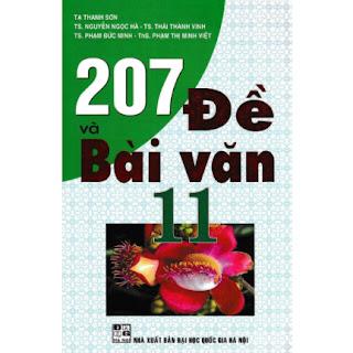 207 Đề Và Bài Văn 11 ebook PDF-EPUB-AWZ3-PRC-MOBI