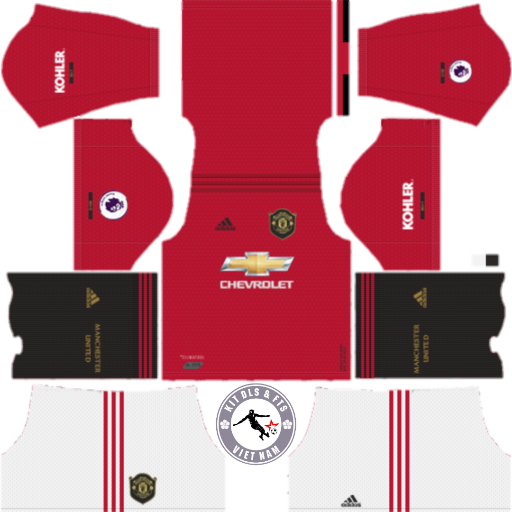 Kits Manchester United 2019 - 2020 Dream League Soccer 2019 & First Touch Soccer