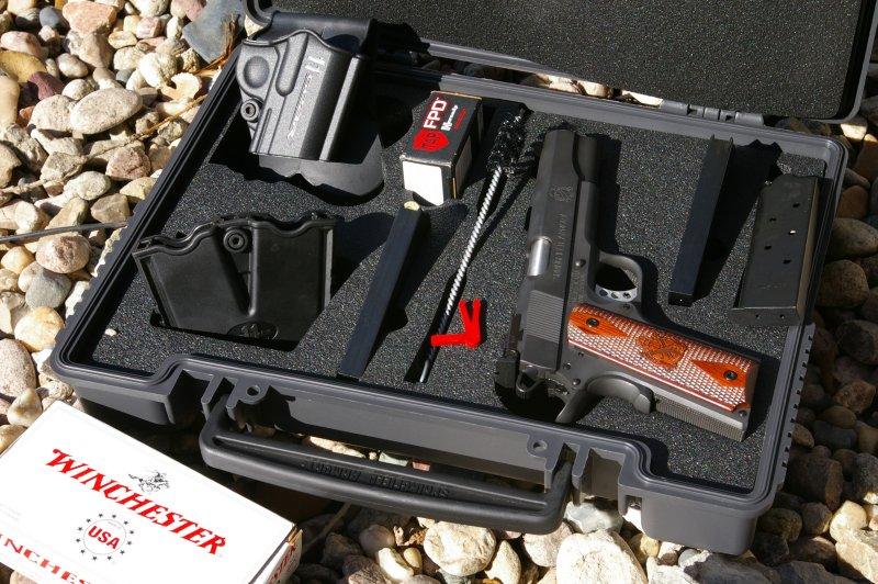 Springfield Armory Range Officer 1911 Review