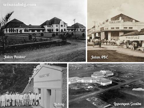 Sejarah nama-nama tempat di Bandung