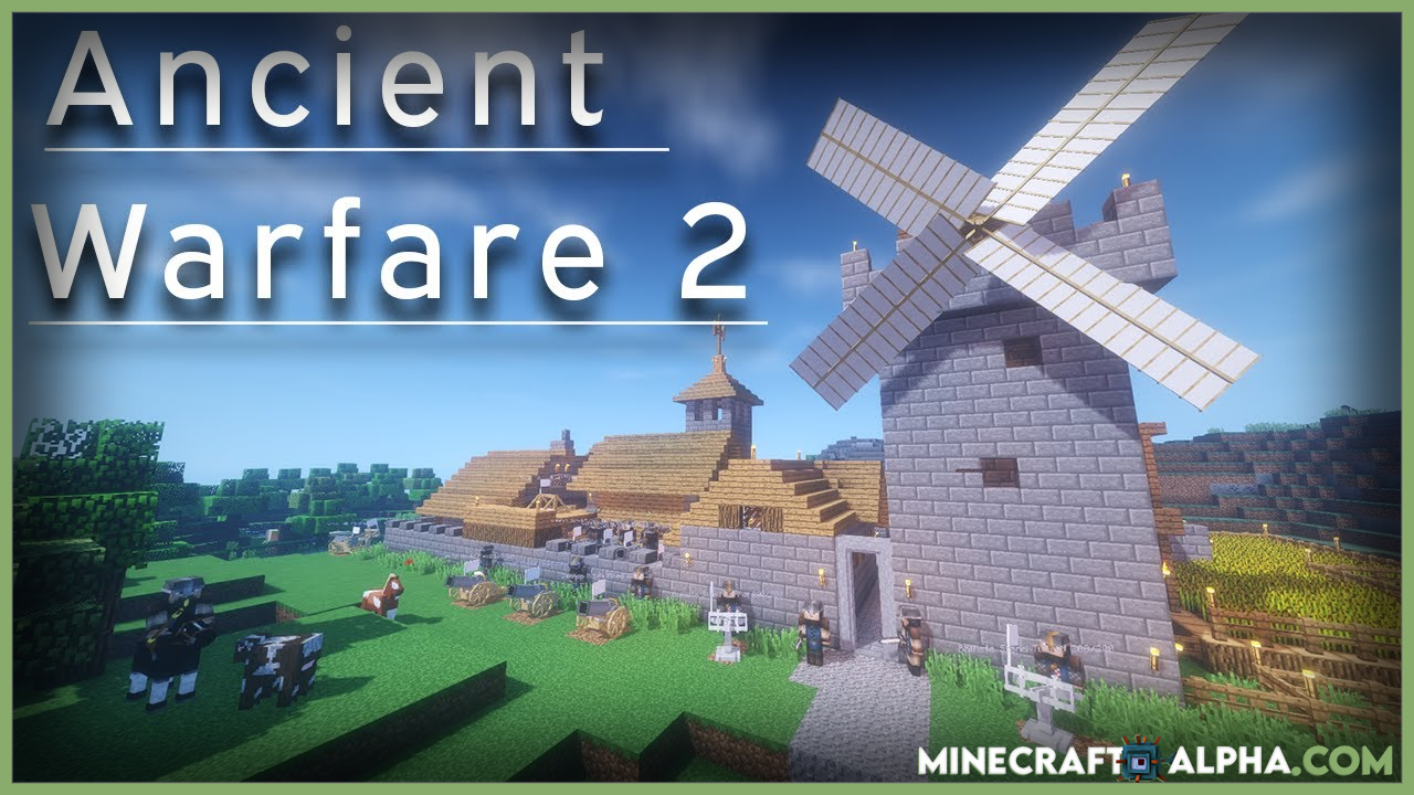 Ancient Warfare 2 Mod For 1.12.2 (NPCs, Farms And Quarries)