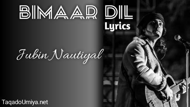 Bimar Dil Song Lyrics in  English   Bimar Dil Lyrics in Hindi