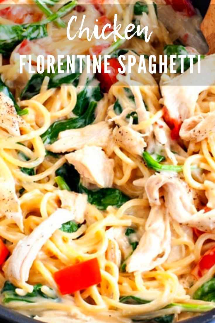 One-Pan Chicken Florentine Pasta