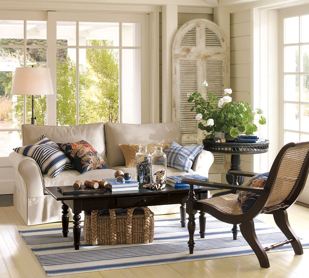 It S Here Pottery Barn Summer Catalog The Wicker House