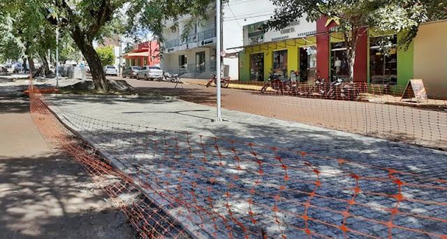 Roncador: Serviços na Avenida São Pedro foram retomados...
