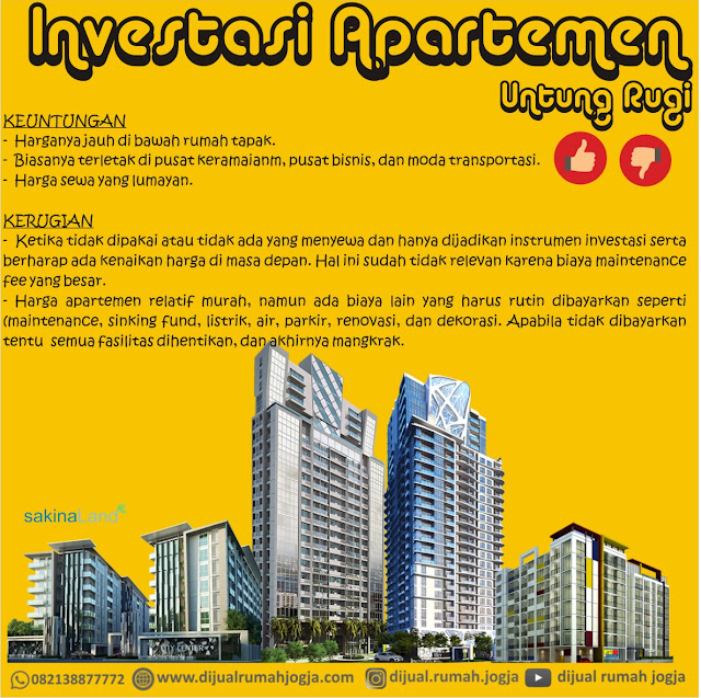 Untung Rugi Investasi Apartemen