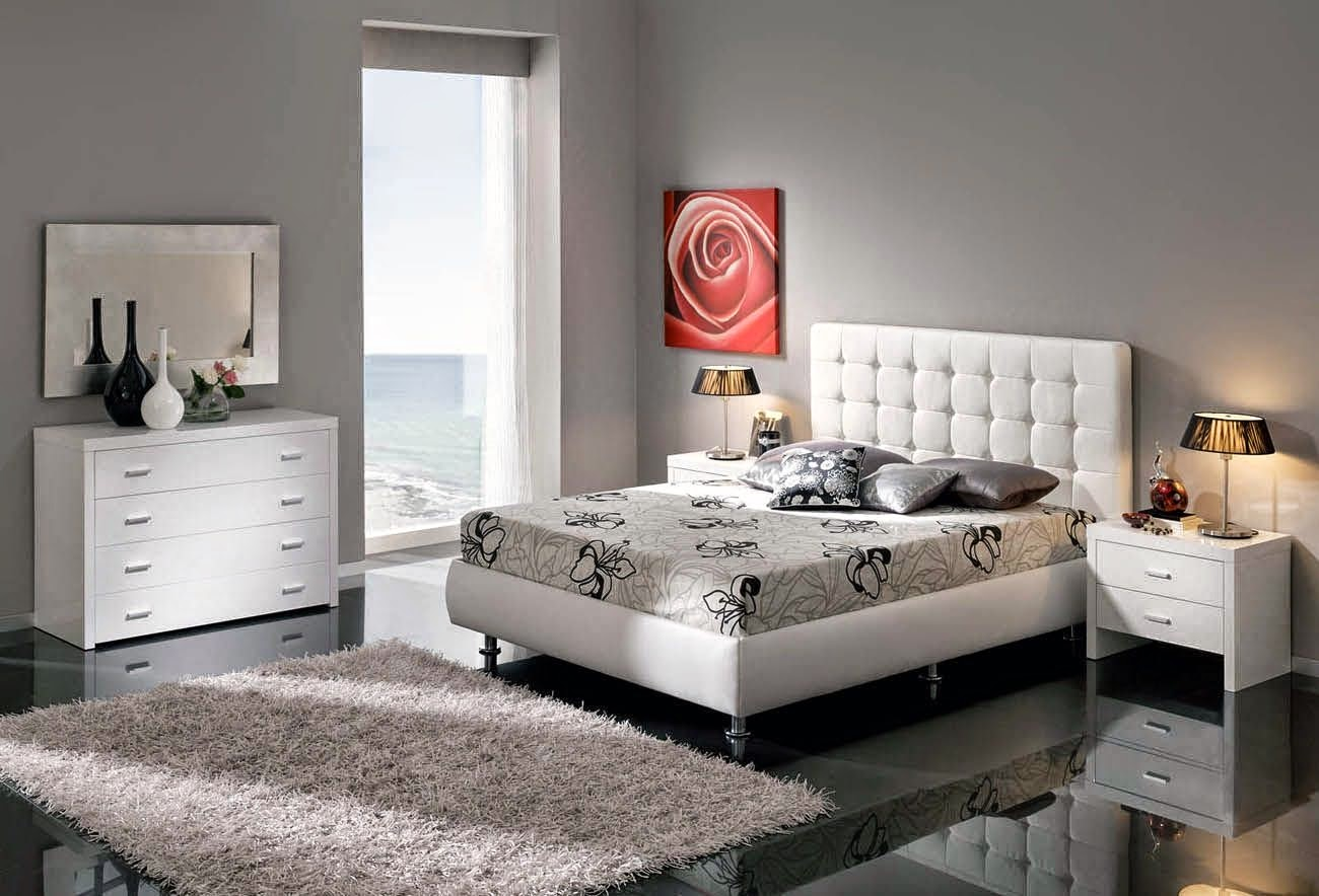 white modern bedroom furniture id 233 e de d 233 coration pour mur de chambre 17853