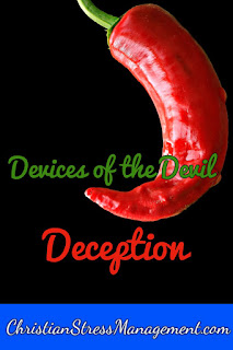 We Are Not Ignorant of the Devices of the Devil Deception