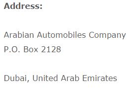 nissan showrooom address