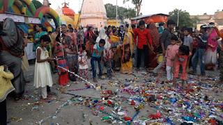 नागपंचमी गुड़िया का त्योहार परंपरागत तथा हर्षोउल्लास से मनाया गया