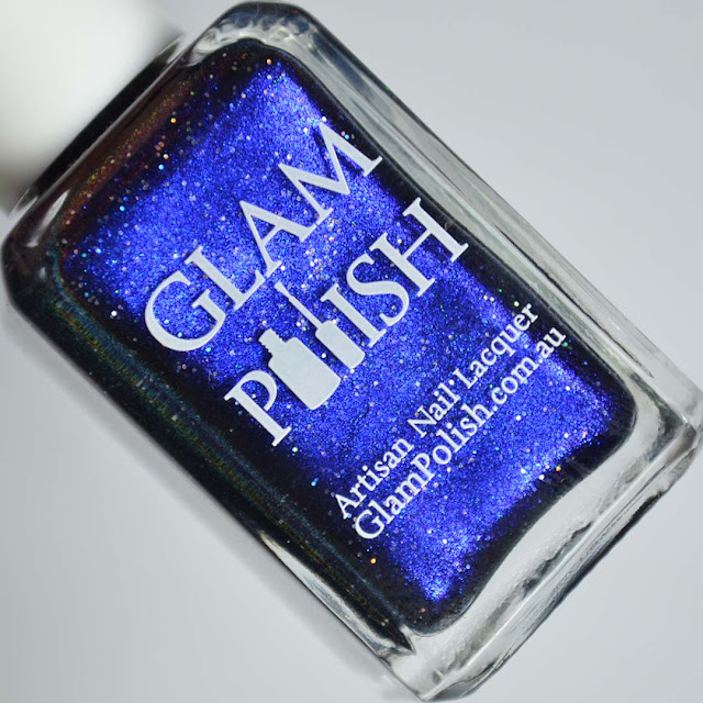 sapphire blue nail polish
