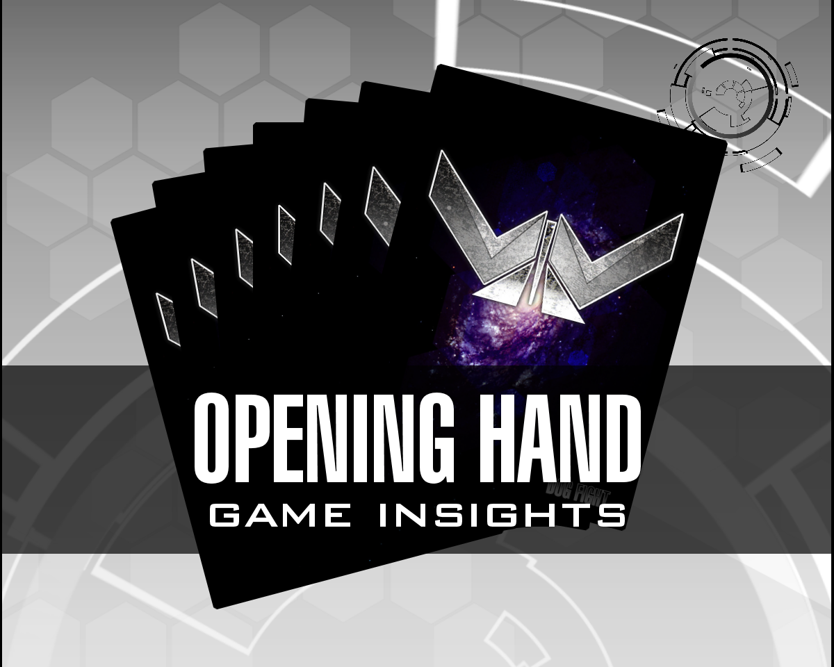 Dog Fight: Starship Edition game insights opening hand