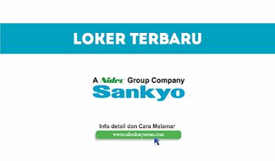 Lowongan Kerja PT Sankyo Indonesia Terbaru 2020
