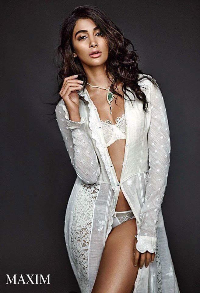 Pooja Hegde Sexy Bikini in MAXIM Photoshoot