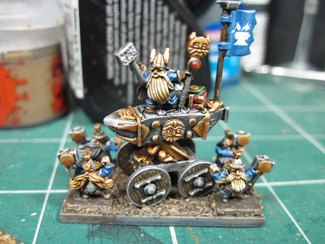 Warmaster Dwarf Anvil of Doom (+2)