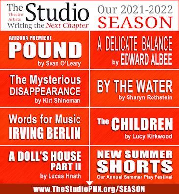 THIS MONTH'S SITE SPONSOR: Theatre Artists Studio presents...