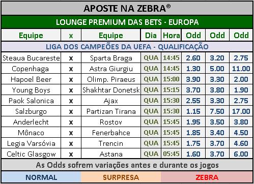 LOTECA 713 - GRADE BETS EUROPA 01
