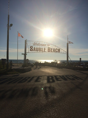 Alexandra & Co, Sauble Beach, Enseigne, Ontario