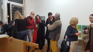 Inauguración Clara Tengonoff en Kunstraum Le Girafe.
